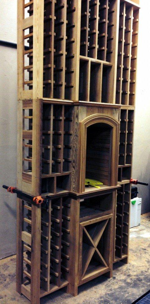 Wine Room woodwork