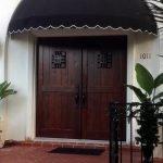 Custom wood door by Wiederhold Creations